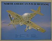 P-51D Cutaway Poster