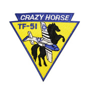 "Crazy Horse Triangle Patch (Size 4"")"