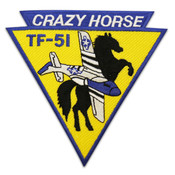 "Crazy Horse Triangle Patch (Size 5"")"