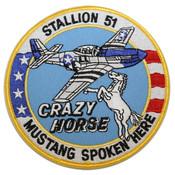 Crazy Horse Circle Patch