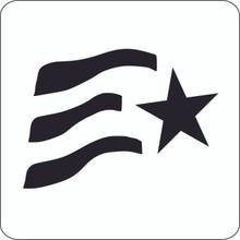 Stars & Stripes Professional Stencil