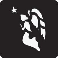 Angel Professional Stencil Insert