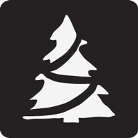 Christmas Tree Professional Stencil Insert