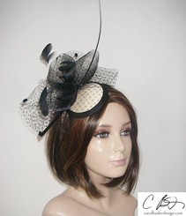Coco Fascinator- 3 colors