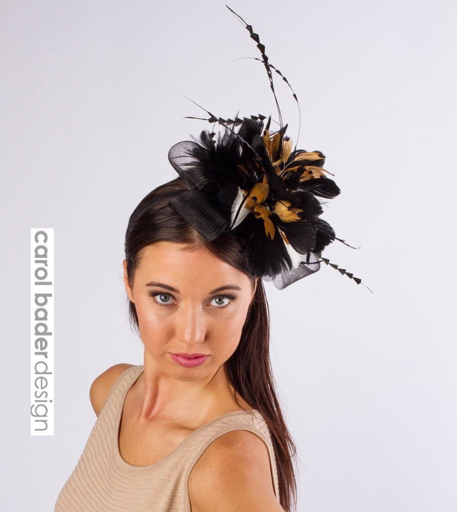 Party Animal Fascinator - Del Mar Hat Co. 7b453166ad7