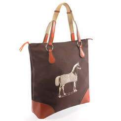 Burghley Tote Chocolate