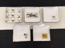 Beverage Napkins. Comes in this clear box. (set of 4)