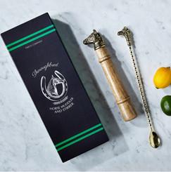 Stirrer & Muddler Gift set with box
