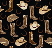 Cowboy Mix -black