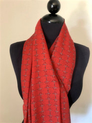 Red Bits Scarf