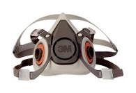 3M Half-Face Respirator, 6000 Series