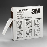 3M Petroleum Sorbent Folded, High Capacity
