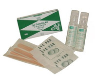 Eye Pack w/ Eye Wash, Pads, & Tape