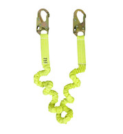 Extreme 6' Stretch Shock Lanyard w/ Double Locking Snaps