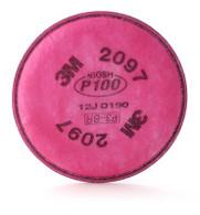 HEPA P100 Filter w/ OV Relief, 50 Pr/Cs