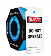 Danger Do Not Operate Tag, 100/ Roll