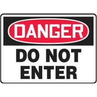 Danger Sign (Do Not Enter)