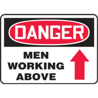 Danger Sign (Men Working Above)