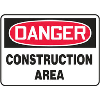 Danger Sign (Construction Area)