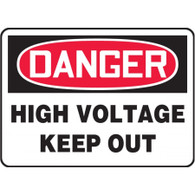Danger Sign (High Voltage - Keep Out)