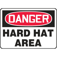 Danger Sign (Hard Hat Area)