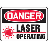 Danger Sign (Laser Operating)