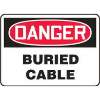 Danger Sign (Buried Cable)