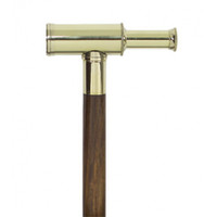 Brass Telescope Walking Stick