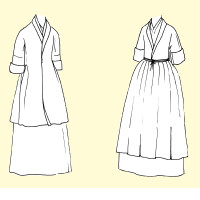An 18th c. Bedgown