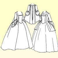 or Robe à la Française