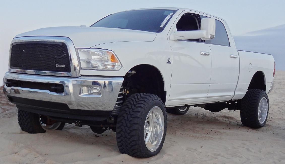 "Dodge Ram 2500 4wd, Diesel Motor 2009-2013 8"" Lift Kit W/Shocks - McGaughys Part# 54950 ..."