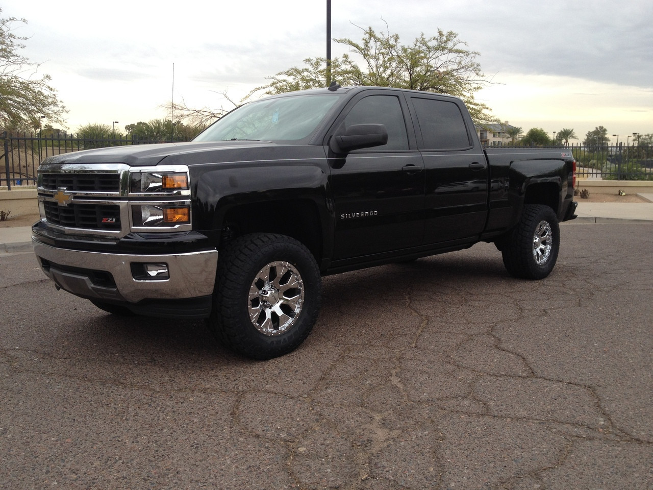 "Chevrolet Silverado 1500 2wd 2014 2018 4"" Lift Kit W Upper"