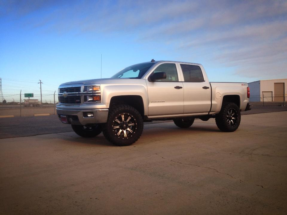 Chevrolet Silverado 1500 4wd 2014 2018 4 Lift Kit W Upper Arms Mcgaughys Part 50762