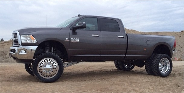 Lifted Dodge Ram >> Dodge Ram 3500 4wd 2013 2019 6 Mcgaughys Lift Kit