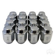 16PK Metric Chrome Lug Nut 1.25 (for Yamaha)) optional for Wheels