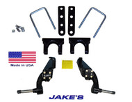 """Jakes CC LIFT KIT 3"""" SPINDLE 84-03 STEEL DUST COVERS"""