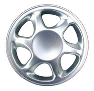 """Golf Cart Wheel Cover, 8"""" Sport Edition Real Chrome Set of 4"""