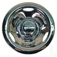 "Golf Cart Wheel Cover 10"" Deep Dish Chrome standard 8"" wheels"