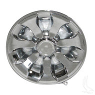 "Wheel Cover, 8"" Driver Chrome standard 8"" wheels"