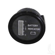 Universal State of Charge Meter, 36V Round Digital