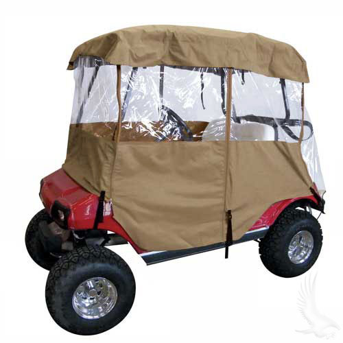 Enclosure, Deluxe 4 sided Tan Weather Protection