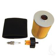 Tune Up Kit, Yamaha G2/G9/G11 4-cycle Gas spark plug air, gas line filter