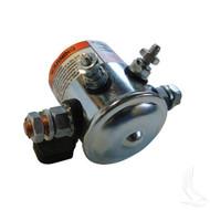 Solenoid, 36V 4 Terminal Copper/Short, E-Z-Go Electric Resistor Cars