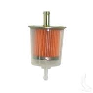 Fuel Filter, In-line E-Z-Go 2-cycle Gas 76-94, Club Car Gas 84-91