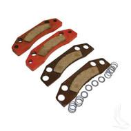 Brake Pads, Replacement, SET OF 4