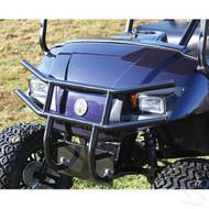 Brush Guard, Front Black Powder Coat Steel, Yamaha Drive
