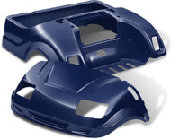 Yamaha Drive Vortex Body Kit in Navy Blue