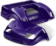 Yamaha Drive Vortex Body Kit in Purple