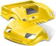 Yamaha Drive Vortex Body Kit in Yellow
