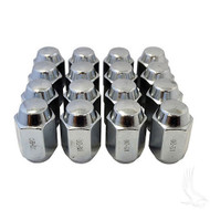 16 Pack Standard 1/2 20 Lug Nuts Chrome